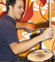 Andrew Clayton B.A. Drum Teacher in Starcross, Exeter, Dawlish, Kenton, Teignmouth